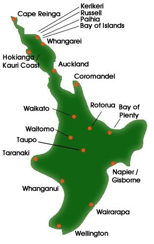 """Kaart met dank aan """"Must do New Zealand"""""""